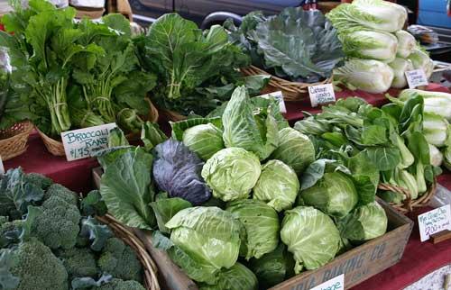 Cool-season produce