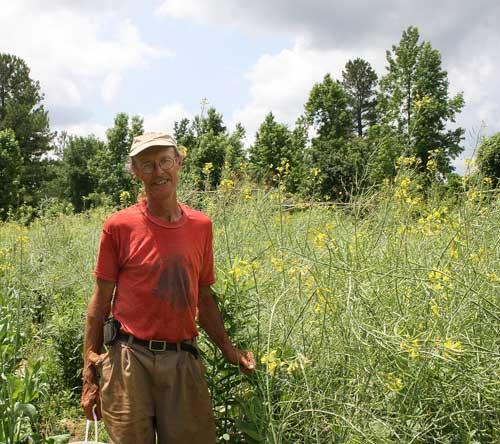 Doug Jones and his seed crop