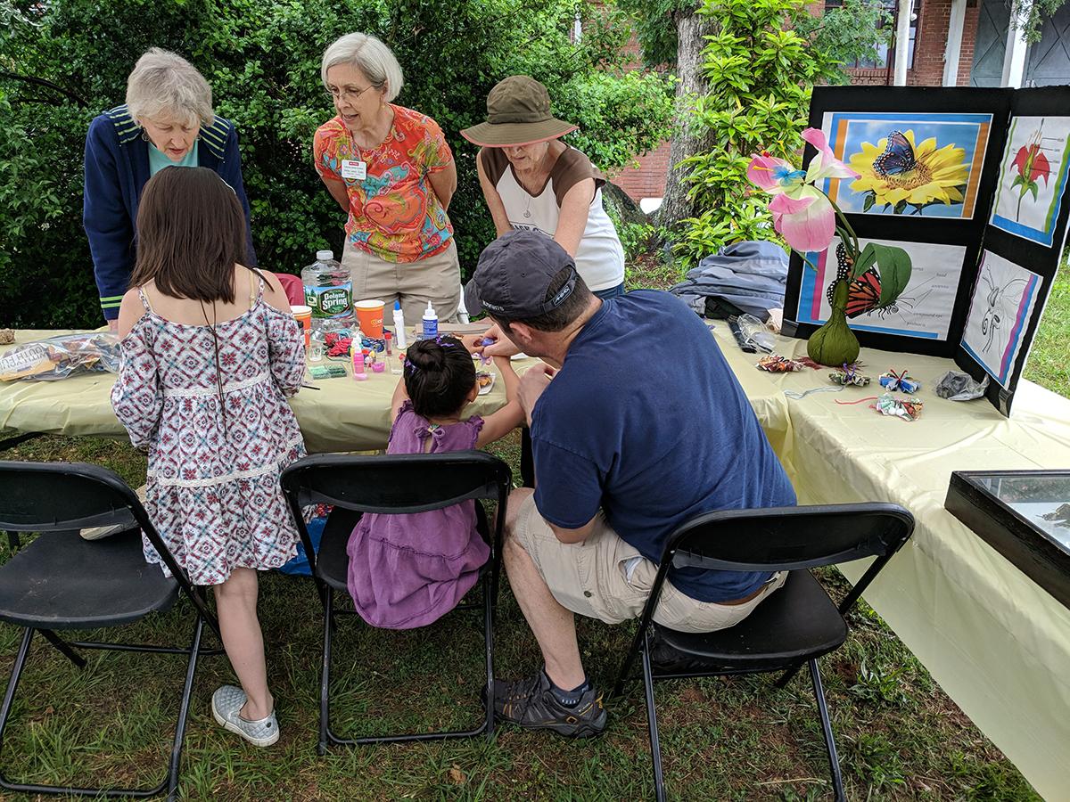 Our Master Gardener Volunteers did a great job with kids' activities!
