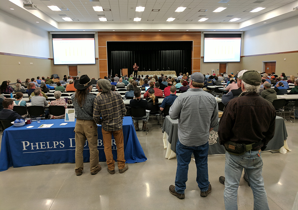 2018 Chatham County Industrial Hemp Workshop. Photo by Debbie Roos.
